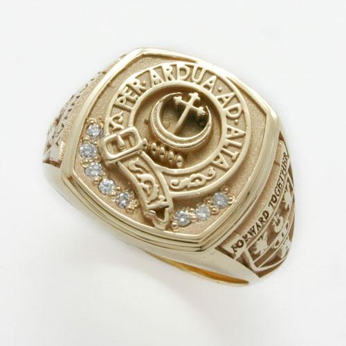 peter gordon jeweller family crest rings